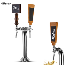 Chalkboard Beer Tap Handle,Wooden Keg Dispenser Handle For Coffee /Beer Tap Bar Tools With Chalkboard Writable Christmas Party