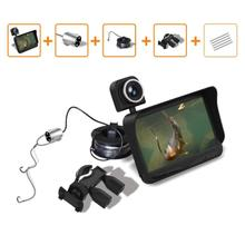 New Double Lens Fish Cameras Fishing Professional Night Vision Finder DVR Video Underwater Camera+Overwater Camera