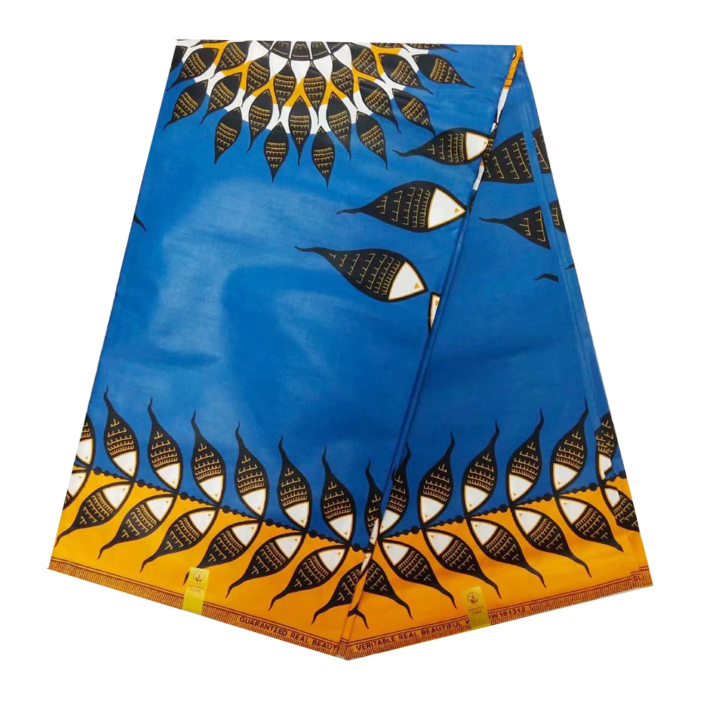 Nigerian Super Jave African Wax Fabrics For Dress High Quality Cotton Ghana Dutch Veritable Print Wax Materials Ankara Pange Wax
