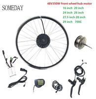 Venta https://ae01.alicdn.com/kf/H3542d11535c24c14b65e85c0764fef42M/Algún día 48V350W kit de conversión de bicicleta eléctrica 16 28 700C frente Hub de rueda.jpg