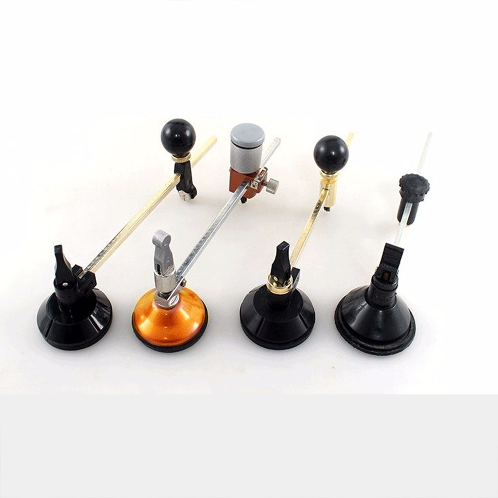 Hot Professional Wood Working Suction Cup Easy To Operate Window Bottle Circle Portable Tools Glass Cutter DIY Roller Type