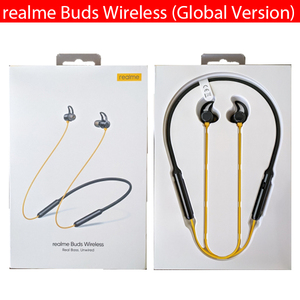 Image 2 - Global Version realme Buds Wireless /Pro Bluetooth 5.0 Magnetic Connection Bass Boost Driver 12H Battery Life For realme 7 Pro 7