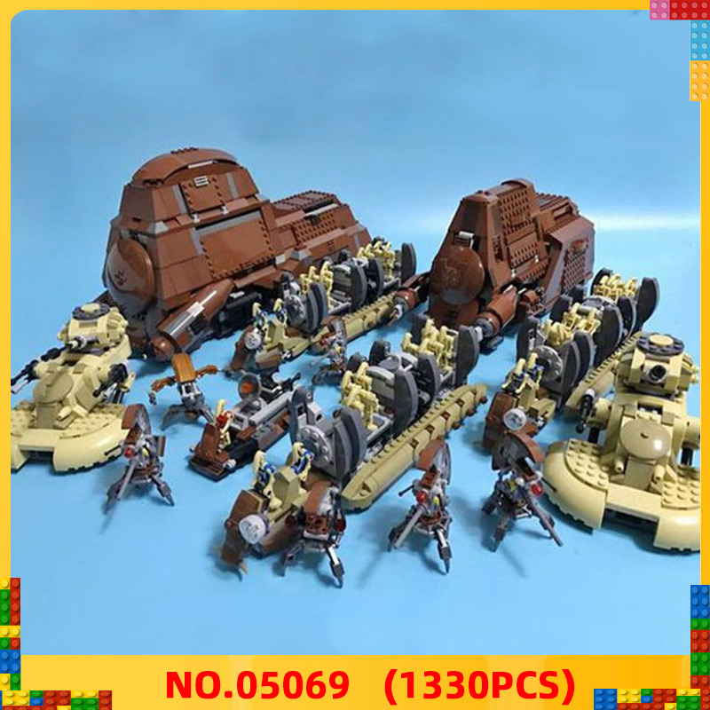 Bricks Toys Transportation-Tank-Set Building-Blocks Bela MTT Star-Wars Federation Compatible