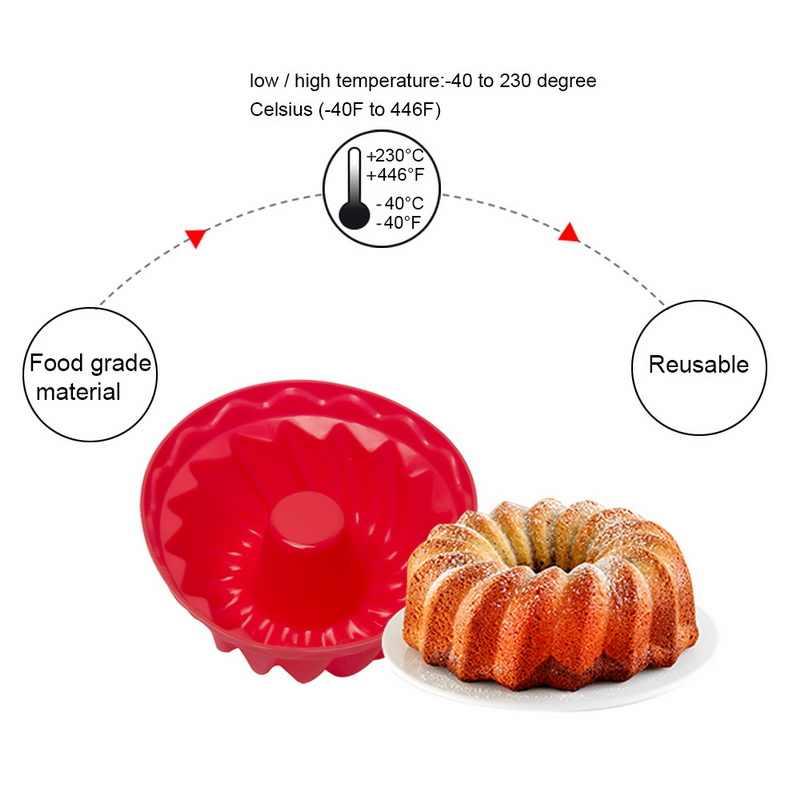 جديد سيليكون كعكة قوالب دوامة شكل كعكة خبز أدوات الخبز ثلاثية الأبعاد الخبز المعجنات قالب بيتزا عموم لتقوم بها بنفسك حفل زفاف وعيد ميلاد