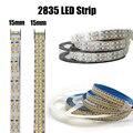 1 м-5 м светодиодный полосы светильник 12V 24V 2835 SMD 240 светодиодный s/M, 480 светодиодный S/M светодиодный чип высокой яркий гибкий светодиодный вере...