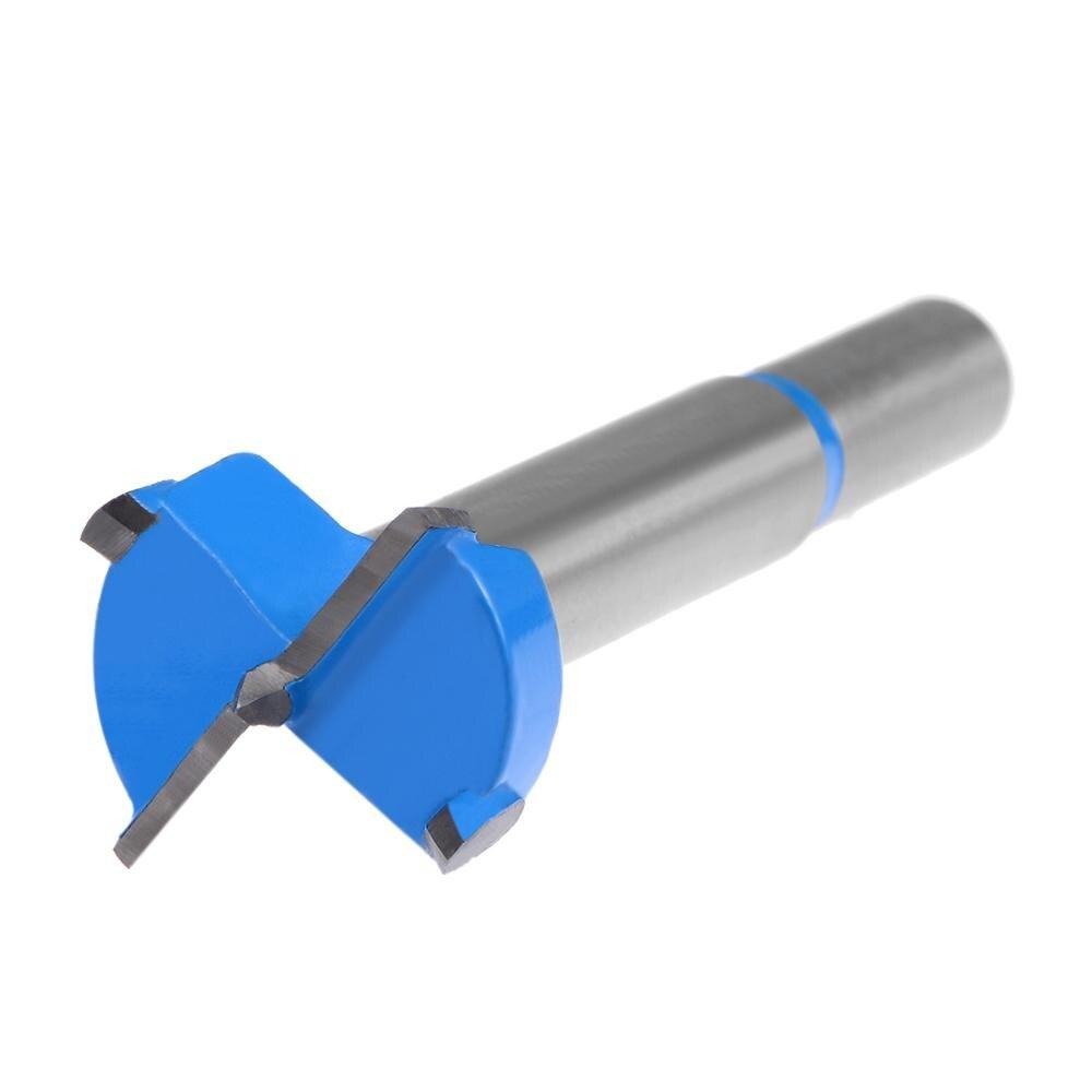 UXCELL 1pc Hinge Boring Forstner Drill Bit 42/40/38/35/32/30/28/26/25/24/23/22/21/20/19/17/16/15mm Diameter 9/8/7mm Round Shank