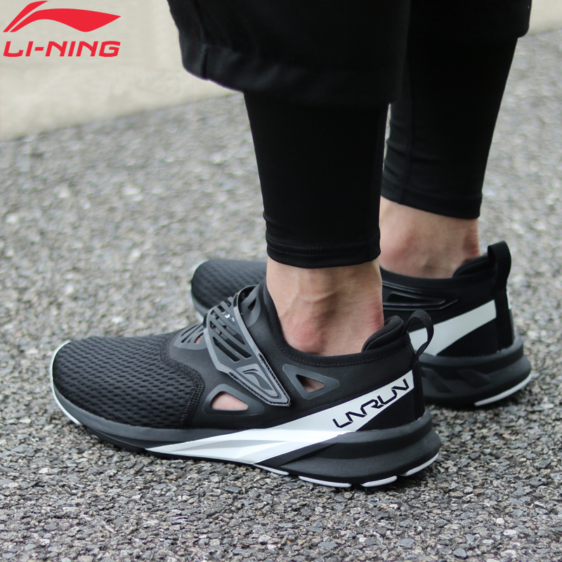 Li-Ning Men COLOR ZONE Cushion Running Shoes Light Breathable Sneakers Comfort Fitness LiNing Li Ning Sport Shoes ARHN073 XYP694