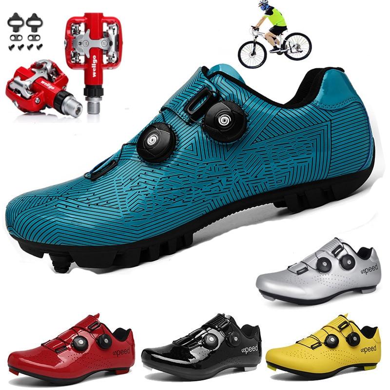 Нескользящая обувь для езды на велосипеде с ночным видением, mtb, для езды на велосипеде, для езды на открытом воздухе, амортизация, 5D, цветная ...