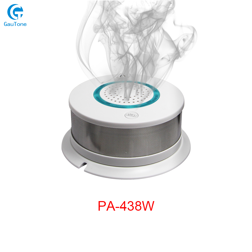 Free Shipping APP Remote Control WiFi Smoke+Heat Wireless Smoke Detector Fire Smoke Sensitive Detector Sensor Fire Equipment title=