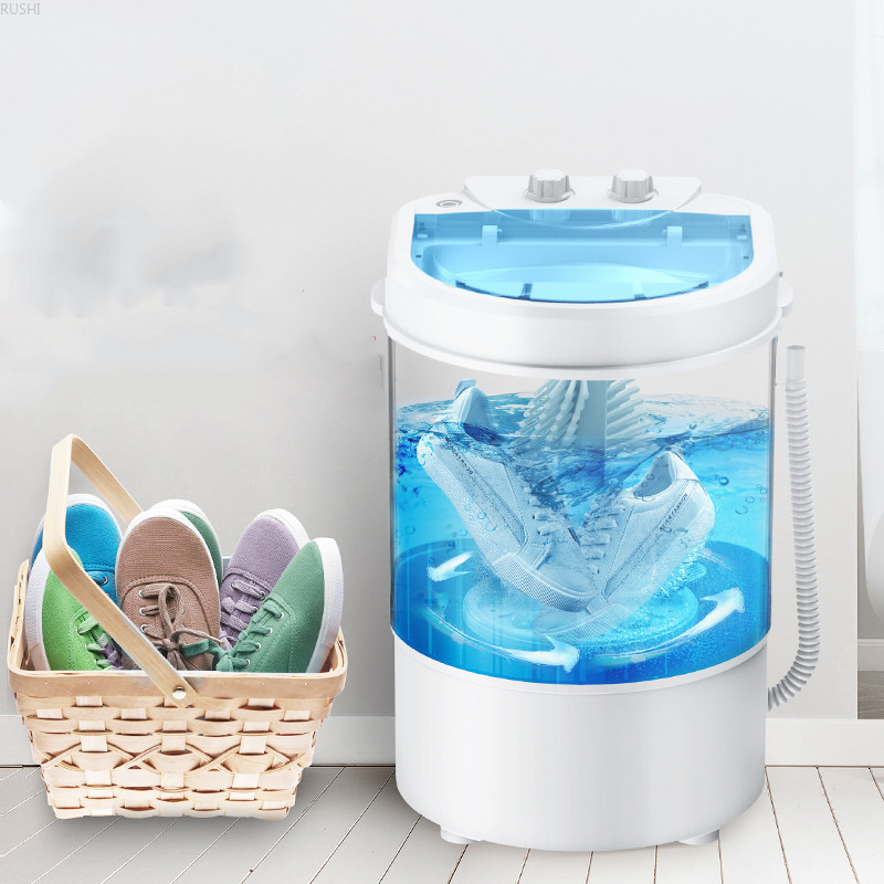 Small Household Intelligent Shoe Washer Lazy Person Brush Shoe Washing Artifact Mini Semi-automatic Shoe Cleaning Dormitory