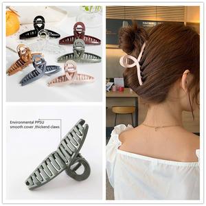Claw-Clips Headwear-Accessory Hair-Clamp Hair-Ponytail-Holders Crabs Cross-Hair Korean
