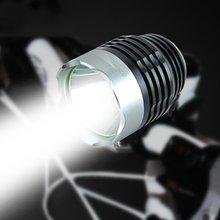 Wysokiej mocy rowerów Bike Lights przednia kierownica jazda na rowerze noc ostrzeżenie reflektor bezpieczeństwa latarka akcesoria rowerowe tanie tanio Baterii