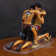 Anime One Piece dramatik vitrin Luffy Ace 5th sezon vol.1 PVC rakamlar koleksiyon Model oyuncaklar 2 adet/takım