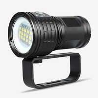 Профессиональный фонарь для дайвинга XML L2 Портативный Подводный факел для дайвинга 80 м подводный IPX8 Водонепроницаемый 18650 фонарик лампы