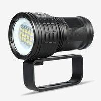 Professional Diving Flashlight XML L2 Portable Scuba Dive torch 80M Underwater IPX8 Waterproof 18650 Flashlights Lantern Lamp