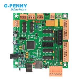 Image 4 - Mk2 100khz placa do controlador de 4 eixos em vez de mach3 4 eixos interface cnc controlador mk2 cnc placa usb para motor deslizante/servo