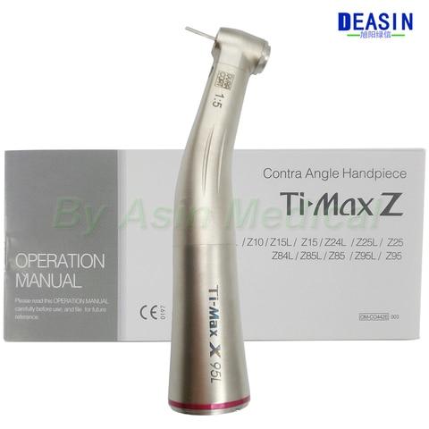 1 pc x handpiece dental 1 5 contra angulo aumento handpiece vermelho para micromotor