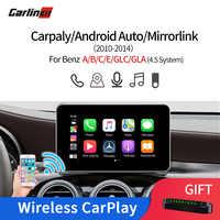 Carlinkit Multimedia Smart Auto Retrofit mit Wireless Apple Carplay/Android Auto für Mercedes Benz NTG4.5 2012-2014 iOS 13