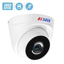 BESDER ONVIF IP كاميرا واي فاي 1080P 960P 720P اختياري ONVIF P2P تنبيه البريد الإلكتروني Yoosee كاميرا بشكل قبة لاسلكية مع فتحة للبطاقات SD ماكس 64G