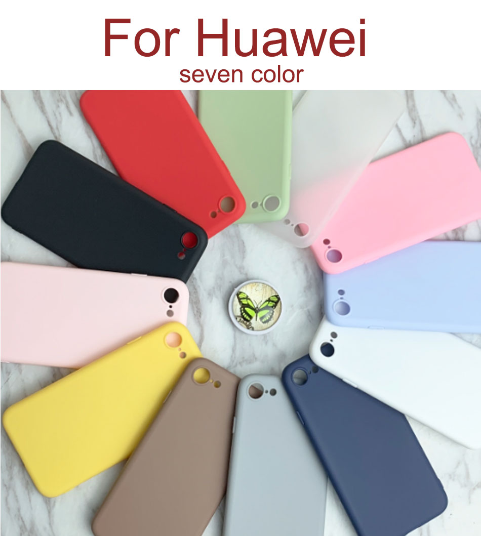Luxury Cute Candy <font><b>Case</b></font> For Huawei <font><b>Honor</b></font> 6C 6S P9 lite smart <font><b>7S</b></font> P smart Nova2 lite 7X Y5 prime 2018 7 <font><b>7S</b></font> TPU Soft <font><b>Silicone</b></font> Cover image