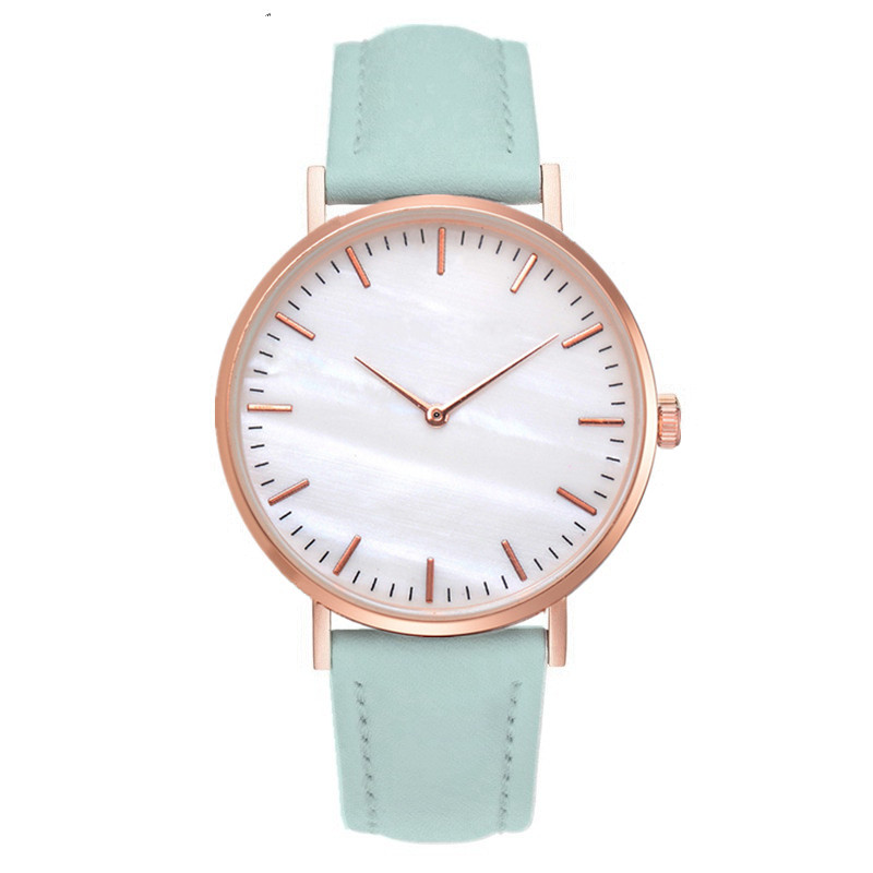 Women Watches Luxury Brand Leather Quartz Watch Fashion Wristwatch Women Clock For Women Simple Watch Hodinky Relogio Feminino