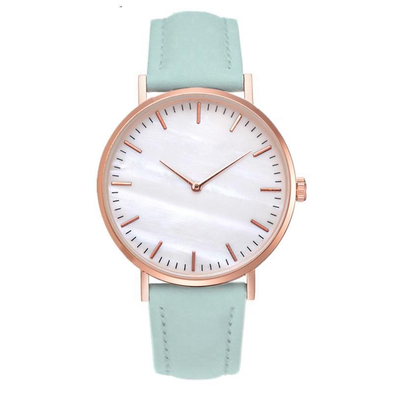 Women Watches Luxury Brand Leather Quartz Watch Fashion Wristwatch Women Clock For Women Simple Watch Hodinky Relogio Feminino