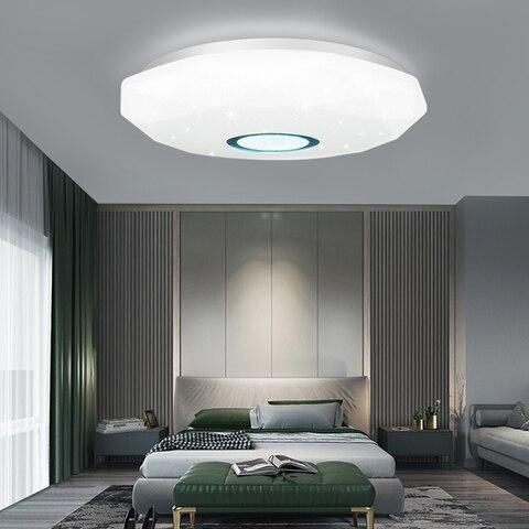moderno pode ser escurecido conduziu a luz de teto 72 w 36 ac 220 v