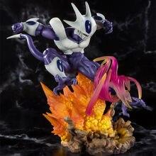 Figuras de acción de Dragon Ball Z Coora, juguetes de 250mm, Anime, Superhéroes, enfriador, Diorama, DBZ