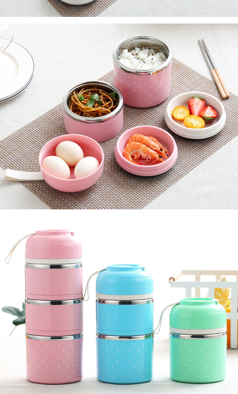 Hot cute Japanese hot spring lunch box leakproof stainless steel lunch box children portable picnic school food container box in Lunch Boxes from Home Garden