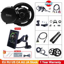 Bafang BBS02B 48V 750W Mid Drive Motor 8fun BBS02 Bicycle Electric eBike Conversion Kit Powerful Central e Bike Engine Newest