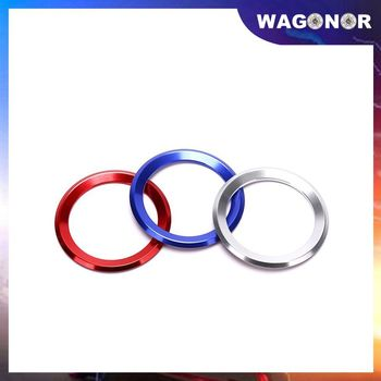 2020 Fashion Car Styling Decoration Ring Steering Wheel Trim Circle Sticker For BMW M3 M5 E36 E46 E60 E90 E92 X1 F48 X3 X5 X6 image