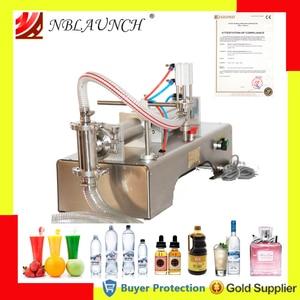 Image 1 - Flüssigkeit Füll Maschine Wasser Pneumatische Kolben Füllstoff Milch Waschmittel Chemische Shampoo Saft Öl Semi Automatische Ejuice Eliquid