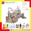 液体充填機水空気圧ピストンフィラーミルク洗剤化学シャンプージュース油、半自動ejuice eliquid