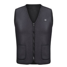 2018 Heated Cloth Physiotherapy Warm Hot Compress USB Electric Vest Jacket Body Warmer Winter Pad Clothing