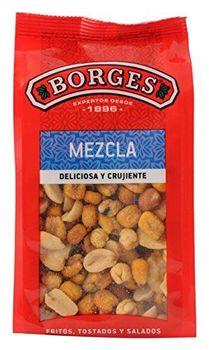 Borges Mezcla de Frutos Secos Fritos y al Punto de Sal - 180 gr [Pack de 14]