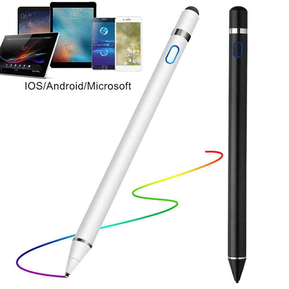 Stylet actif pour iPad Apple crayon 1 2 IOS stylet pour Android tablette stylo crayon pour iPad Huawei Samsung Xiaomi Smartphone