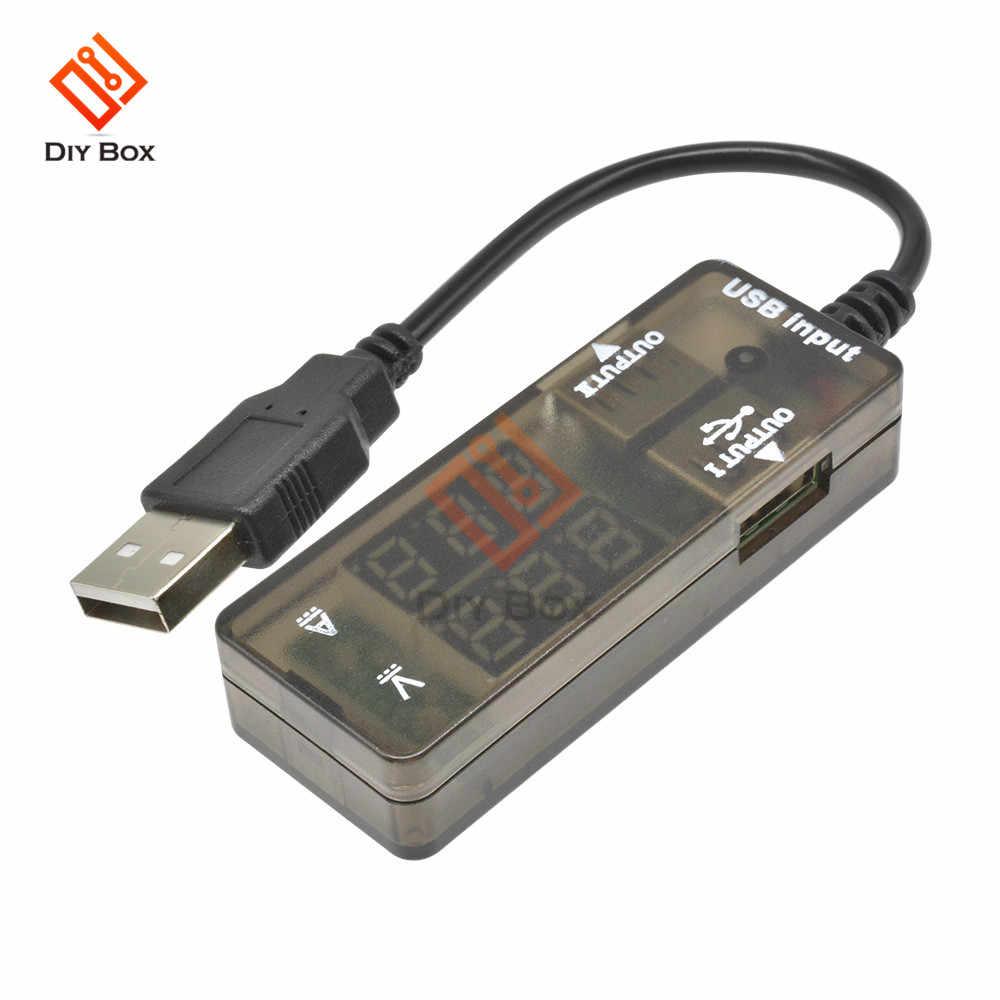 LED Digital USB Charger Doctor Voltage Current Meter Tester Power Detector Cable