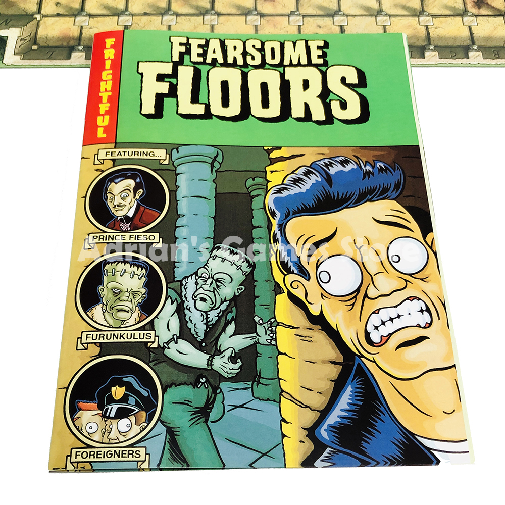Image 5 - Fearsome Floors Frightful Board Game Finstere Flure Easy To Play 2 7 Players Party GameBoard Games   -