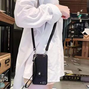 Модные сумки через плечо, Роскошный чехол для телефона Apple iphone 6 6s 7 8 Plus 11 Pro X XR XS MAX, кожаные чехлы для iphone, роскошный чехол