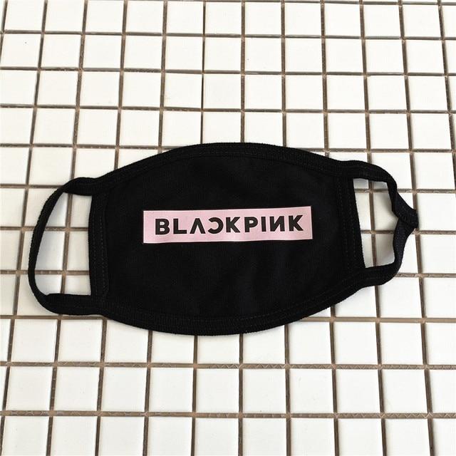 KPOP BlackPink Twice Seventeen Got7 EXO Cotton Breathable Mask Dustproof Face Mask Outerdoor Mask wj338 3