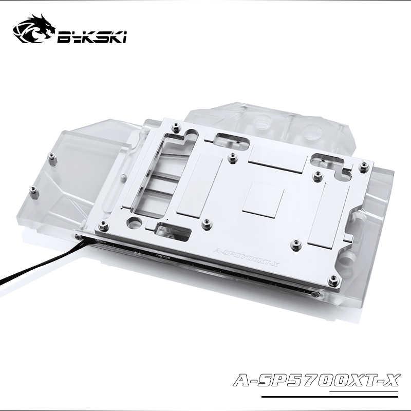 Bloque de agua Bykski, utilizado para Sapphire RX 5700 XT Pulse MSI RX5700XT MECH/EVOKE/tarjeta AMD GPU, cobertura completa Coppe