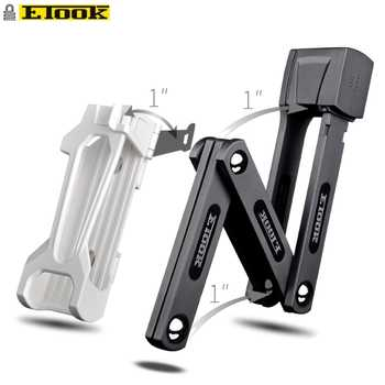 Etook Foldable Lock Road bike Mtb Bicycle E-bike Lock Patent Lock Bracket Compact Light Weight Mini Lock ET480 - DISCOUNT ITEM  55% OFF All Category