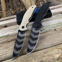 ZT Zero Tolerance 0606 Folding knife 9CR14MOV tiger Blade G10 Handle Outdoor Campaing survival knife Pocket knife