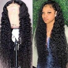 Beaudiva שיער עמוק גל פאה מתולתל שיער טבעי פאה Prepluck 13*4 תחרה מול שיער טבעי פאות עם תינוק שיער עמוק גל סגירת פאה
