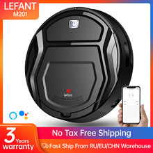 Lefant M201 Mini Robot Vacuum Cleaner For Smart Home Floor Nail dust carpet pet hair cleaner machine APP vacuum robotic cleaner