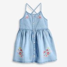 Little Maven Kids Frocks 2021 Summer Baby Girls Clothes Brand Vestiods Toddler Cotton Dot Bunny Flower Dress for Kids 2-7 Years