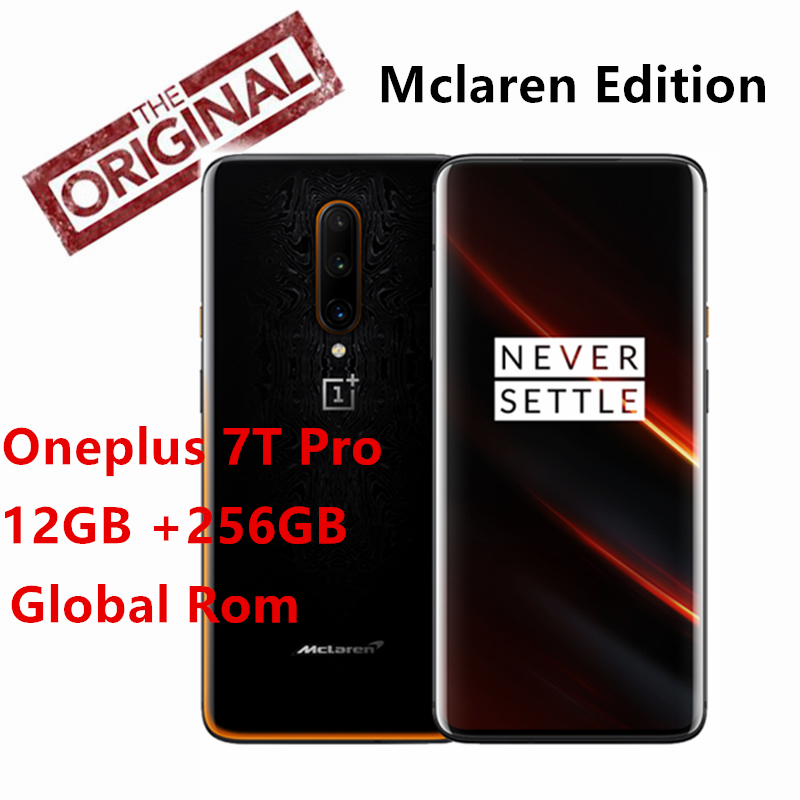 OnePlus 7T Pro Mclaren Edition Snapdragon 855+ 12GB 256GB 6.67'' AMOLED Screen 90Hz Refresh Rate 48MP Triple Cam 4085mA NFC|Cellphones| - AliExpress