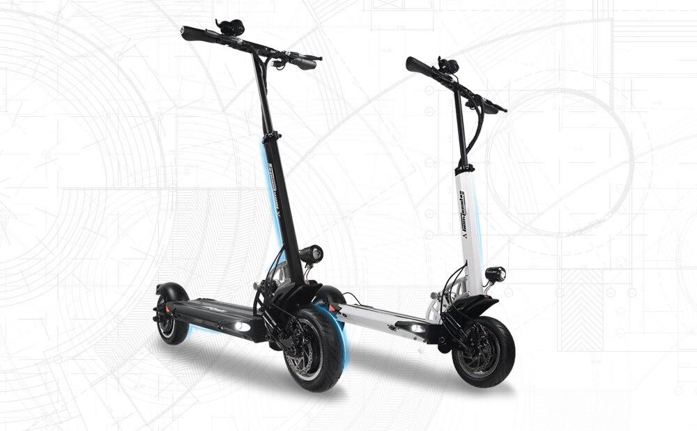 SPEEDWAY 5 – trottinette électrique 5ème génération, double moteur, vitesse max 60 km/h, skateboard