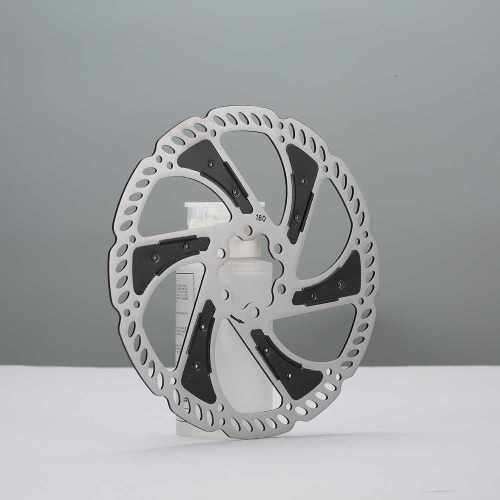 Vtt DH vélo frein à disque refroidissement Rotor flottant 140mm 160mm 180mm avec 6 boulons Rotor pour vélo de route de montagne RT86 RT99