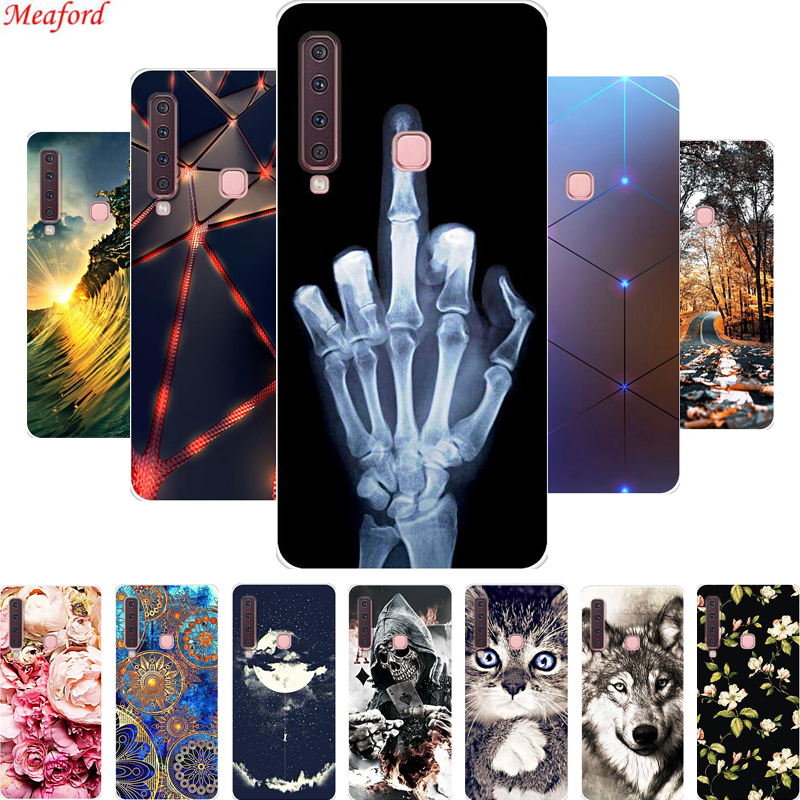 A9 2018 phone Case For Samsung Galaxy A9 2018 6.3 Case soft Silicone TPU back cover For Samsung A9 star pro A9s A920F Case coque